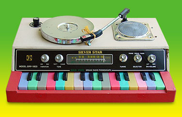 This 1970s electric organ has ALL the colours (and a record player)