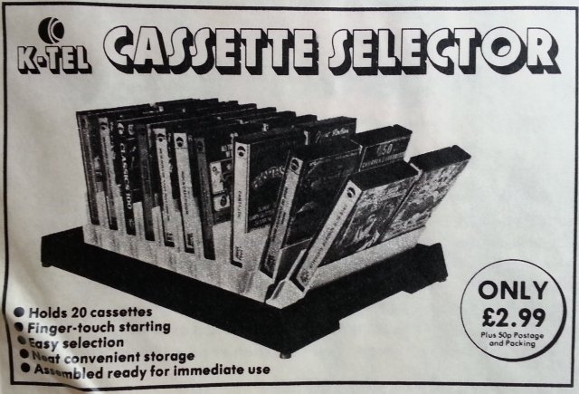 K-Tel Automatic Cassette Selector - for the higher-class host